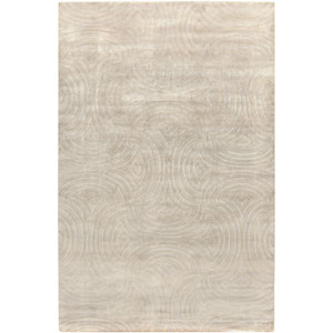 Luminous Oyster Gray Rectangular: 5 Ft. x 8 Ft. Rug