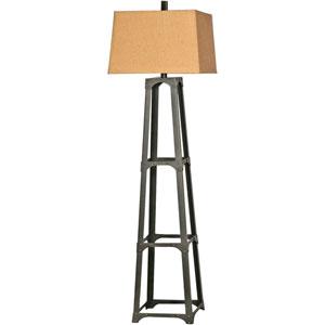 Lavish Bronze One Light Floor Lamp