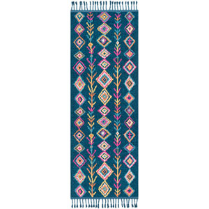 Love Blue Runner: 2 Ft. 7 In. x 7 Ft. 3 In. Rug