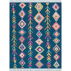 Love Blue Rectangle: 7 Ft. 10 In. x 10 Ft. Rug