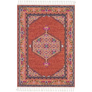 Love Red Rectangle: 9 Ft. 3 In. x 12 Ft. 1 In. Rug