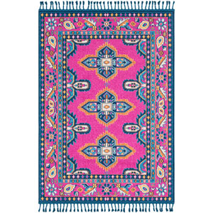 Love Pink Rectangle: 2 Ft. x 3 Ft. Rug