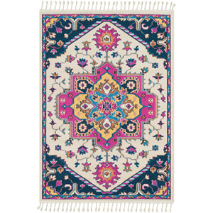 Love Pink Rectangle: 9 Ft. 3 In. x 12 Ft. 1 In. Rug