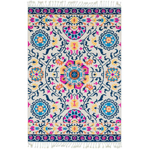 Love Blue Rectangle: 5 Ft. x 7 Ft. 3 In. Rug