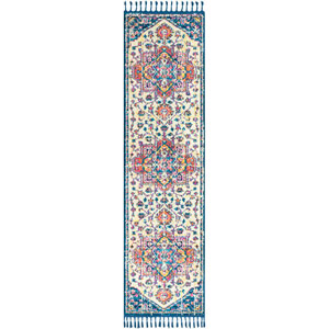 Love Blue Runner: 2 Ft. 7 In. x 10 Ft. Rug