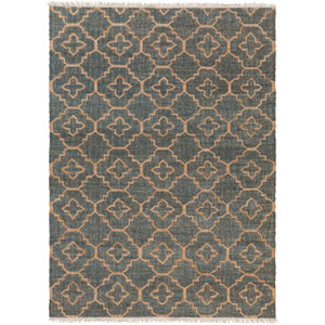 Laural Moss and Beige Rectangular: 2 Ft x 3 Ft Rug
