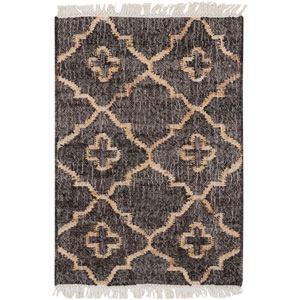 Laural Ivory and Beige Rectangular: 2 Ft x 3 Ft Rug