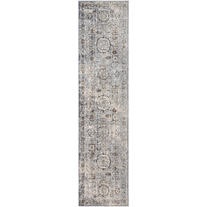 Liverpool Grey Runner: 2 Ft. 7 In. x 10 Ft. 3 In. Rug