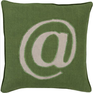 Where its At Forest 22-Inch Pillow with Poly Fill