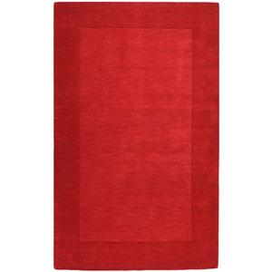 Mystique Red Rectangular: 5 Ft. x 8 Ft. Rug