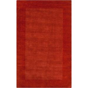 Mystique Red Orange Rectangular: 5 Ft. x 8 Ft. Rug