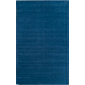 Mystique Cobalt Round: 9 Ft. 9 In. x 9 Ft. 9 In. Rug