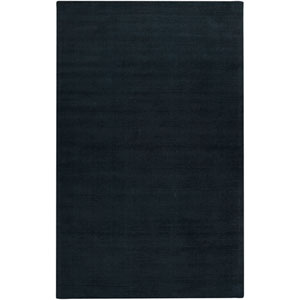 Mystique Dark Blue Round: 9 Ft. 9 In. x 9 Ft. 9 In. Rug