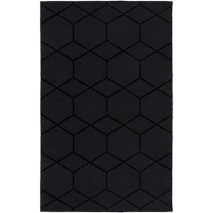 Mystique Black Rectangular: 2 Ft x 3 Ft Rug