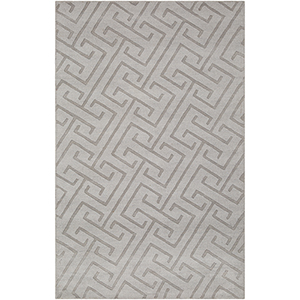 Mystique Light Grey Rectangular: 5 Ft. x 8 Ft. Rug