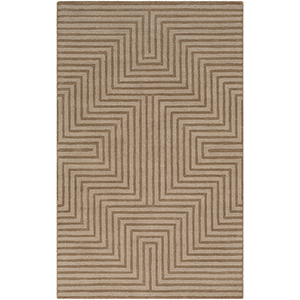 Mystique Tan Rectangular: 8 Ft. x 11 Ft. Rug