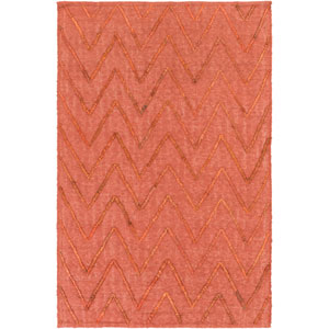 Mateo Red Rectangular: 2 Ft 6 In x 8 Ft Rug