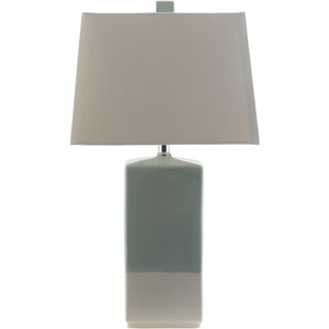 Malloy Blue and White One-Light Table Lamp