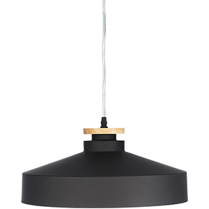Mcclean Black and Gold One-Light Pendant