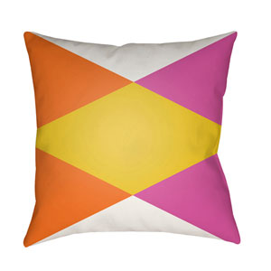 Modern Multicolor 22 x 22-Inch Pillow