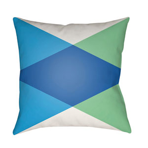 Modern Multicolor 20 x 20-Inch Pillow
