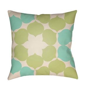 Modern Multicolor 22 x 22-Inch Pillow