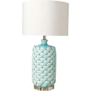 Meredian Blue Table Lamp