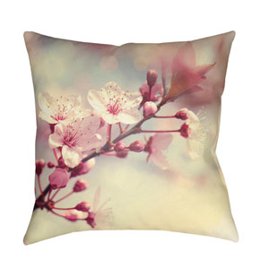 Moody Floral Multicolor 22 x 22-Inch Pillow