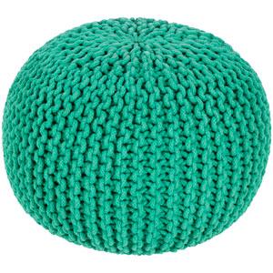 Malmo Green Sphere Pouf