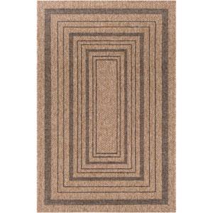 Marmaris Brown Rectangle: 2 Ft. x 3 Ft. Rug