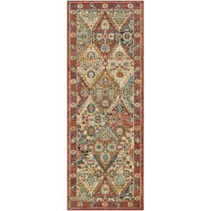 Masala market Multicolor Rectangular: 9 Ft. 3 In. x 12 Ft. 6 In. Rug