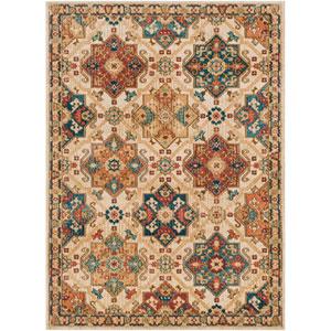 Masala Market Multicolor Rectangle: 3 Ft. 11 In. x 5 Ft. 7 In. Rug