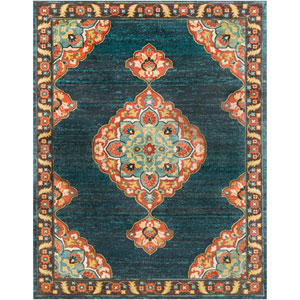 Masala Market Multicolor Rectangle: 7 Ft. 10 In. x 10 Ft. 3 In. Rug