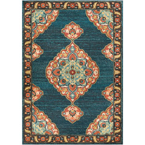 Masala Market Multicolor Rectangle: 9 Ft. 3 In. x 12 Ft. 6 In. Rug