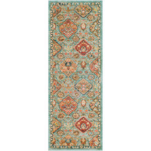 Masala Market Multicolor Runner: 2 Ft. 7 In. x 7 Ft. 3 In. Rug