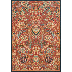 Masala Market Multicolor Rectangle: 9 Ft. 3 In. x 12 Ft. 6 In. Rug