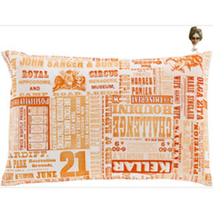 Mind Games Poppy 13 x 20-Inch Pillow with Down Fill