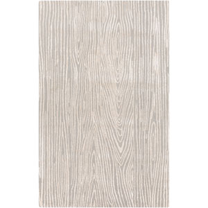 Manor Gray and Ivory Rectangular: 2 Ft x 3 Ft Rug