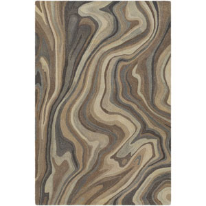 Mountain Multicolor Rectangular: 5 Ft. x 7 Ft. 6 In. Rug