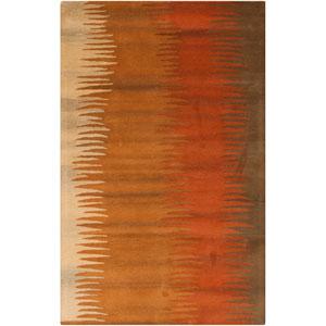 Mosaic Brown Runner: 2 Ft. 6 In. x 8 Ft. Rug