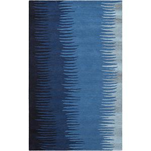 Mosaic Blue Rectangular: 5 Ft. x 8 Ft. Rug