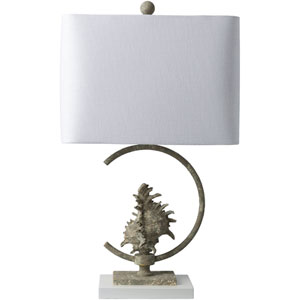 Montagu Silver Table Lamp