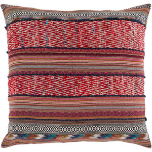 Marrakech Pink and Brown 30-Inch Pillow Cover