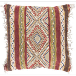 Marrakech Multicolor 30-Inch Pillow with Poly Fill
