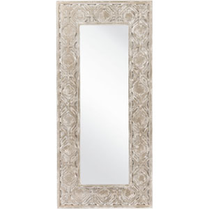Emerson Weathered Pewter Decorative Rectangular Mirror