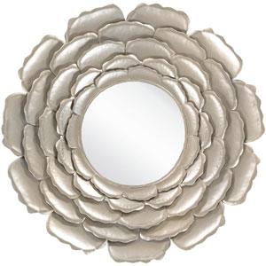 Whitley Champagne Decorative Round Mirror