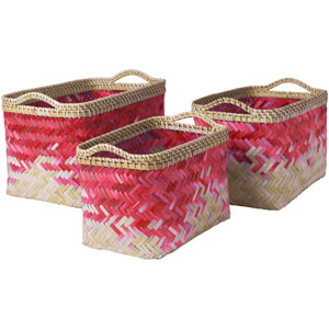 Marshfield Butter and Bright Pink Basket