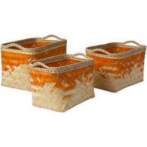Marshfield Butter and Bright Orange Basket