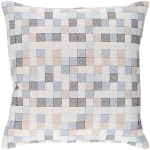 Modular Multicolor 20 x 20 In. Throw Pillow