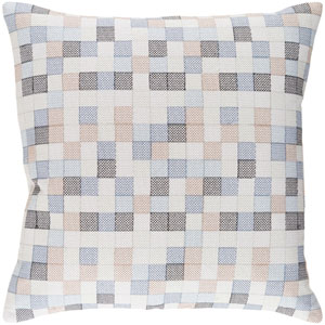 Modular Multicolor 22 x 22 In. Throw Pillow